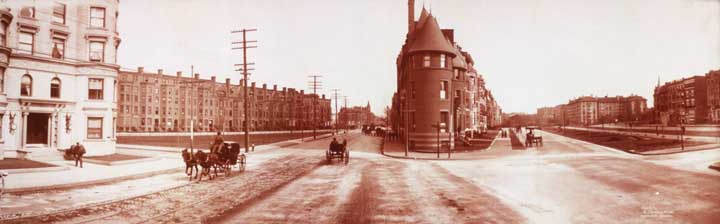 Commonwealth Avenue, Boston 1903