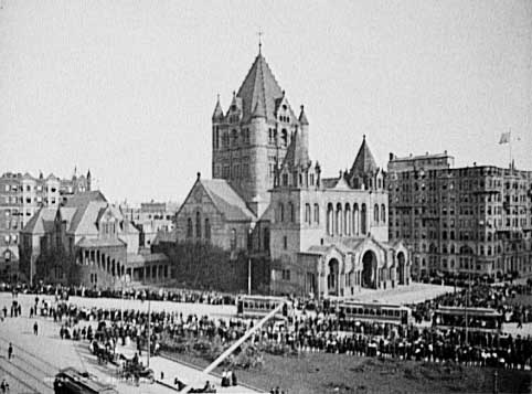 Copley Square, Boston, 1903 Credit: ©1903, Detroit Publishing Co. Library of Congress, Prints and Photographs Division [reproduction number:LC-D4-10736 R]