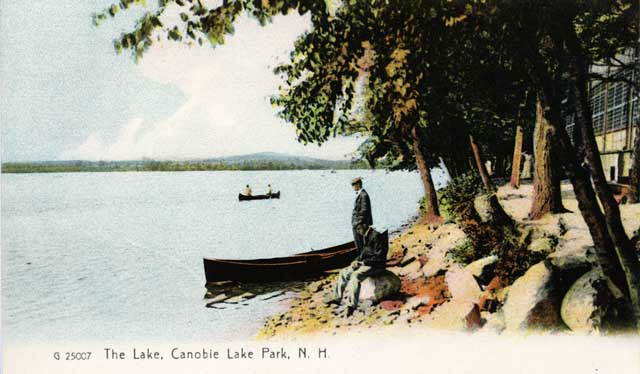 Canobie Lake Park, New Hampshire, in the olden days