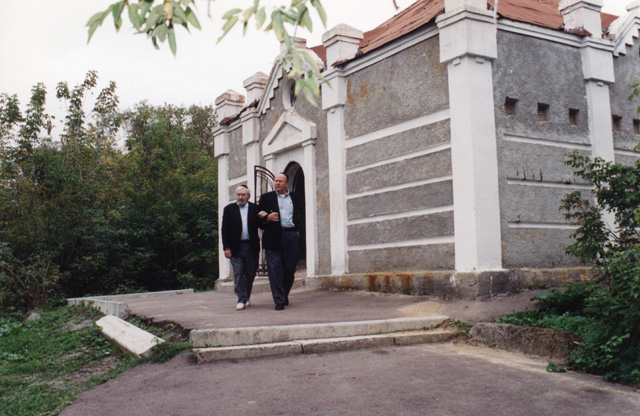 This ohel is located in the town of Berdichev, and is the burial site of one of Paul's and Baruch's ancestors, Rabbi Levi Yitzhak (1740-1809) of Berdichev. He was student of the Maggid (popular preacher) of Mezhirich and son of Rabbi Meir.