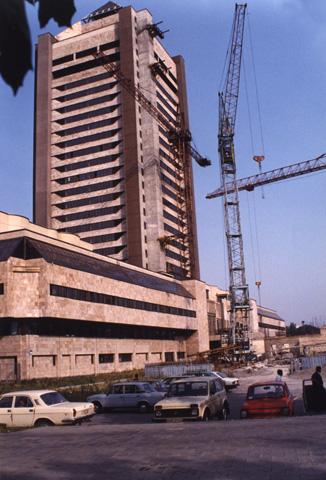New construction at Babi Yar